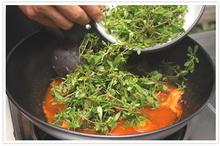 แกงผักขี้ขวงใส่ปลาย่าง